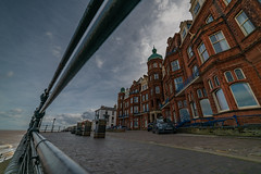 samyang 14mm-2 (istee@live.co.uk) Tags: cromer pier beach seaside wideangle superwideangle sea waves samyang 14mm sonya7rii clouds sky blue