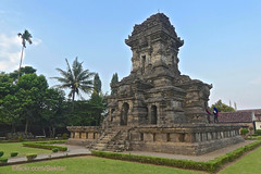 Old indonesian Hindu temple Candi Singowari, Malang (Sekitar) Tags: jawa jawatimur indonesia island southeastasia java ostjava east candi malang hindu majapahit heritage easternjavanesestyle temple architecture singowari