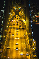 When You're Lonely and Tired of the City (Thomas Hawk) Tags: america bayarea baybridge california sfbayarea sanfrancisco sanfranciscobayarea treasureisland usa unitedstates unitedstatesofamerica architecture bridge us fav10 fav25 fav50 fav100
