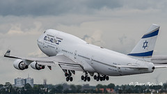 4X-ELE   Boeing 747-412 - El Al Israel Airlines (Peter Beljaards) Tags: 4xele boeing747 rishonletsion elal jumbo 747 aircraft airplane jetliner passengerjet ams eham msn26551 pw4000 prattwhitney nikond5500 aviationphotography nikon7003000mmf4556 schiphol takeoff departure