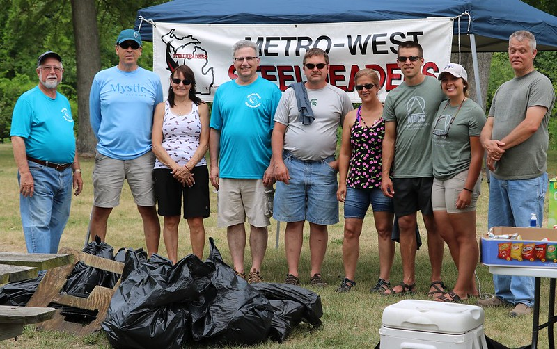 2018 07 14 Clinton River Clean Up