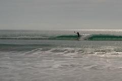 Port Willunga (Helen C Photography) Tags: yellow beach ocean waves shore nature south australia coast willunga nikond750 nikon d750 surfer paddleboard