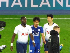 After the match (lcfcian1) Tags: leicester city tottenham hotspur lcfc thfc king power stadium kingpowerstadium football sport england spurs epl bpl premier league premierleague shinjiokazaki sonheungmin moussasissoko