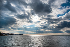 Merry Christmas Eve (ThroughAdam'sLens) Tags: clouds sky god rays godrays