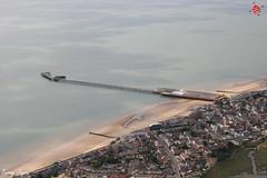 The Pier (Essex Explorer) Tags: aerial img8999 waltonpier waltononthenaze essex northsea