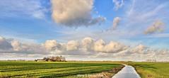 Groninger Landschap,Groningen ,the Netherlands,Europe (Aheroy) Tags: landscape landschap groningerlandschap aheroy aheroyal clouds wolken farm boerderij rural platteland campo campagne lantschaft landschaft weiland meadow gras grass lepré prado lesnuages nubes wide wijd openlandschap 2018 sloot ditch