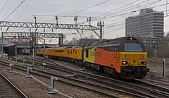 Colas 67s on Test Train (garstangpost.t21) Tags: 67023 67027 colasrailfreight testtrain 1q30 derbyrtc crewe cheshire