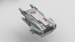 Digitally Modified Lego Millennium Falcon 2.0: Mandible Module Exterior (Evrant) Tags: lego star wars millennium falcon 75105 modified mods digital starship spaceship ship y t yt 1300 freighter module evrant
