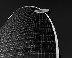 W (m_laRs_k) Tags: stripes 2dwf w hotel barcelona 54 noir blackandwhite bw schwarzweiss monochrome olympus penf 714 барсело́на wideangle