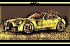 (c)  GT - AMG - COUPE  Nr. 005 / limited edition 100 (Jui Jah Fari) Tags: gtamgcoupe gtamgv8 gtamg amggtcoupe gt amg amgv8 mercedes mercedescoupe mercedesamg mercedesgt mercedesbenz art artistic artwork kunstwerk kunst artist künstler juijahfari amgcoupe coupe sportwagen power biturbo turbo benz