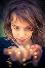 Leds (Bokeh Retrats) Tags: sunset princess teenager portrait leds