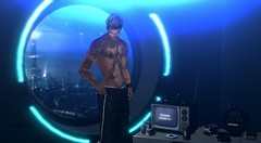 Tune in - (Kavika Lowgun -) Tags: vegas tattoo anxiety sl