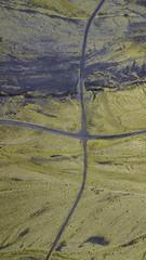 Dirt crossings (aerojad) Tags: hornafjörður easternregion iceland is dji mavic mavicpro dronephotography drone 2018 landscape vacation travel wanderlust iceland2018 october autumn southcoast routeone lookdown