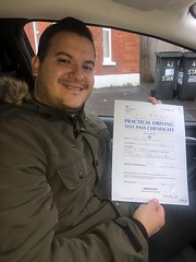 Massive congratulations  to Marco Jesus Leon passing his driving test with only 3 minor faults.   www.leosdrivingschool.com  WARNING: Getting your license is a good achievement however being a SAFE driver for life is the biggest achievement!