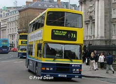Dublin Bus RA191 (94D191). (Fred Dean Jnr) Tags: april2005 dublin dublinbus busathacliath dublinbusyellowbluelivery volvo olympian alexander r collegegreendublin dbrook dublinbusroute7a ra191 94d191