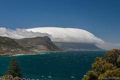 Sou'easter in False Bay (Johan Grobbelaar) Tags: simonstad sonettekuier see wind clouds