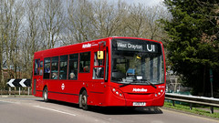Former Line Of Route (londonbusexplorer) Tags: metroline west adl enviro 200 de1593 lk08flf u1 ruislip drayton tfl london buses