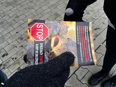 Kaufland Wrocław2.d (Otwarte Klatki) Tags: aktywizm karpie streetwork