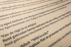 Wild kuusjke of Margraats Belgisch Bleu (Epen/NL) (About Pixels) Tags: 2017 aboutpixels apple epen gerardushoeve holland limburg nl nederland netherlands provincielimburg collecties eten food horeca iphone6s menu menukaart restaurantgerardushoeve culinair