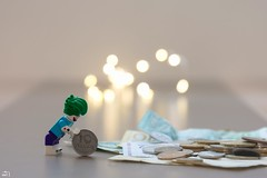 20/365 (misa_metz) Tags: nikon photo photography minifigures lego money lights colors color sigma indoor coin toy game