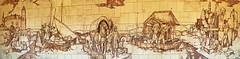 Dresden - Augustusbrücke, Keramik-Sgraffito Panorama (www.nbfotos.de) Tags: dresden augustusbrücke keramiksgraffito sgraffito elbschifffahrt hansnadler sachsen panorama panoramafoto