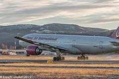 N846AX Omni Air International Boeing 777-2U8(ER) - 36124 / 614 (Otertryne2010) Tags: 2018 2k18 boeing enva juncture nato norge norway trd trident trondheim værnes omni 7772u8er takeoff