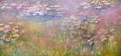 1915-26 Water Lilies by Claude Monet (KC) (edit) (MO FunGuy) Tags: art museum kansascity claudemonet waterlilies