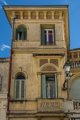 Old Building Facade, Menton (Peter Cook UK) Tags: menton building old 2019 facade south dazur cote france