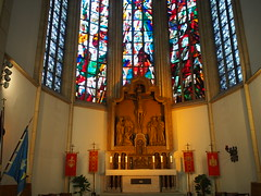 St. Peter (peterwoelwer) Tags: omdem5 olympusomdem5 omd olympus microfourthirds mft mzuiko17mmf18 olympus17mmf18 kirche stpeter marxloh