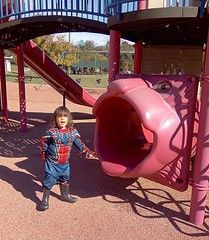 Shiloh at the Playground (pdw's atelier) Tags: child kinder children baby toddler son grandson grandchild grandbaby sweet darling portrait cute thefutureis empowered youth feisty art artwork artist sketch pencil pen charcoal draw paint painting ink watercolor shiloh