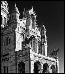 Sacré Coeur Basilica / Базилика Сакре-Кёр (dmilokt) Tags: город city town церковь храм собор church chapel kirk cathedral temple sanctuary shrine dmilokt