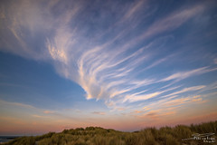 The masters brushstrokes. (PvRFotografie) Tags: nederland holland nature natuur weer weather clouds cloud wolk wolken zonsondergang sundown sunset dune dunes duin duinen sonyilca99m2 sigma1224mm 1224mm 12mm sigma12244556 sigma1224mmf4556dgiihsm