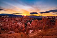 Sunrise - Bryce Canyon, 2018 (Dino Sokocevic) Tags: southwest utah utahphotographers tamron tamronusa ultrawide nd10 longexposure longexpo nikon nikonusa outdoors landscapes landscape nature nationalpark national desert sunrise