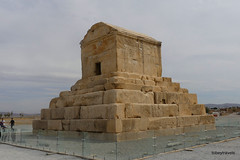 001 Tomb of Cyrus The Great, Pasargadae (3) .JPG (tobeytravels) Tags: cyrus dashtimurghab achaemenid elamite elam pasargadai solomonsmother herzfeld stein alexanderthegreat tombchamber plinth ashlar