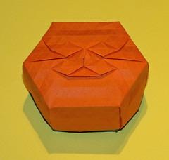 Bracelet 2 tessellation box (mganans) Tags: origami tessellation box