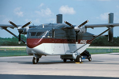 N410AC-1-KRSW-JUL1996 (Alpha Mike Aviation Photography) Tags: fortmeyers southwestflorida regional airport rsw krsw short skyvan sc7 n410ac aircargocarriers