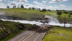 Bonds Flat Road near the Don Pedro Dam spillway, California, USA (water.alternatives) Tags: tuolumneriver road excavated spillway donpedro dam mariposacounty usa lagrange ca california