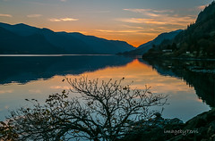 Gorge sunset (imagebyTerri) Tags: columbiarivergorge sunset river reflections water leadinglines mountains cascades tree sky canon imagebyterri