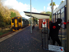 150232 Perranwell (Marky7890) Tags: gwr 150232 class150 sprinter 2f81 perranwell railway cornwall maritimeline train