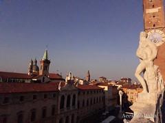 Terrace - Basilica Palladiana (aeeshahraha) Tags: vicenza italy city