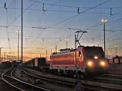 187 162 HH Süd 07-11-2018 (vorstadtjazz) Tags: eisenbahn bahnhof bahn hamburg br187 güterzug hamburgsüd abenddämmerung dämmerung abend