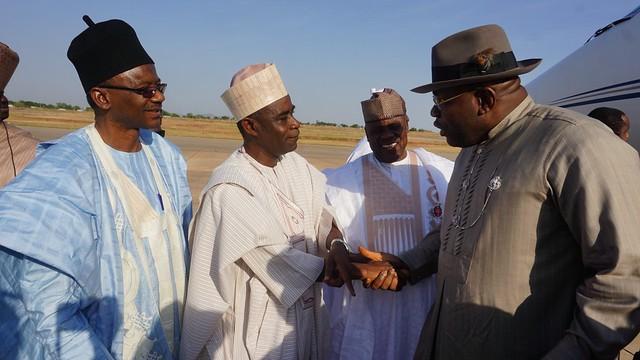 HSDickson- His Excellency At  The Birthday of Alhaji Atiku Abubakar, The Waziri Of Adamawa (vii). Yola November 2018