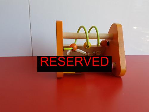 Eichhorn wooden toy - 4 mill