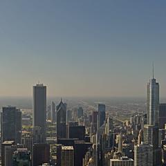 USA - Illinois - Chicago - view from John Hancock Center