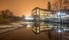 Saltaire at night (Dave2638) Tags: longexposure night nightshoot saltaire yorkshire westyorkshire dec2018