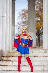 Bombshell Supergirl (S1Price Lightworks) Tags: supergirl super girl cosplay cosplayer bombshell dc comics superhero comiccon cosmaker washington canon eos r 50mm