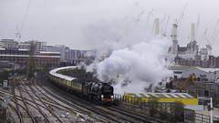 Belmond British Pullman (McTumshie) Tags: belmondbritishpullman 1z20 20181208 35028 batterseapowerstation clanline london wandsworthroadstation locomotive mainlinesteam railway steam steamlocomotive train