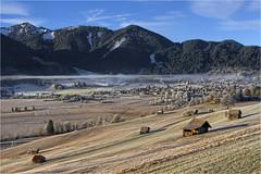 Unterammergau (Robbi Metz) Tags: deutschland germany bayern bavaria unterammergau altherrenweg alpen landscape mountains fog colors canoneos