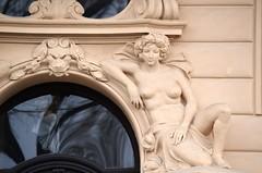 Prager Fassadendetails - 8 (fotomänni) Tags: prag prague praha jugendstil fassadenfiguren skulptur skulpturen sculpture kunst art manfredweis