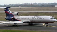 Tupolov TU-154 RA-85760 (707-348C) Tags: dusseldorfairport eddl dus airliner jetliner passenger tupolov afl aeroflotrussianairlines aeroflot russianairlines dusseldorf ra85760 t154 germany 2006